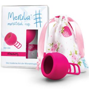 Менструална чашка Merula strawberry
