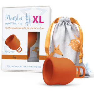 Менструална чашка Merula XL fox