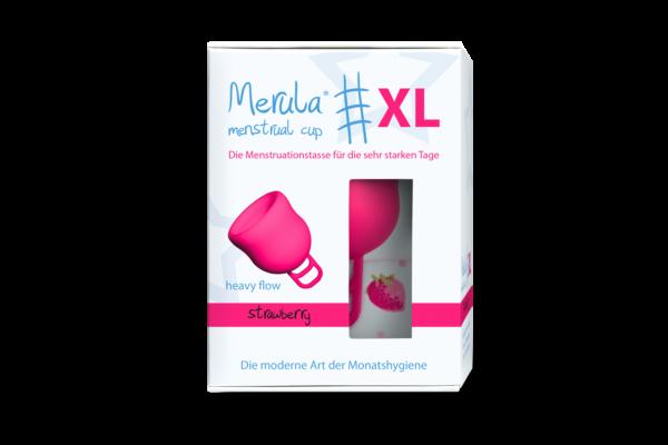 Менструална чашка Merula XL strawberry